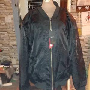 Mens flight jacket